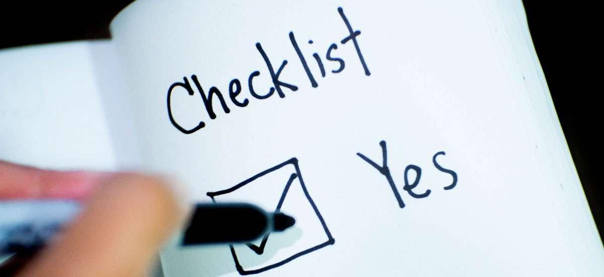 separation checklist australia